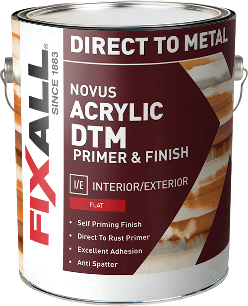 Novus Acrylic Dtm Primer Finish Fixall Paint