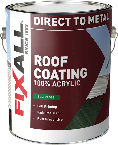 Roof Coating Fixall Paint