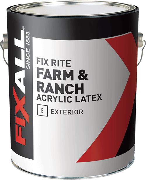 Fix Rite Farm Ranch Exterior Latex Paint Fixall Paint