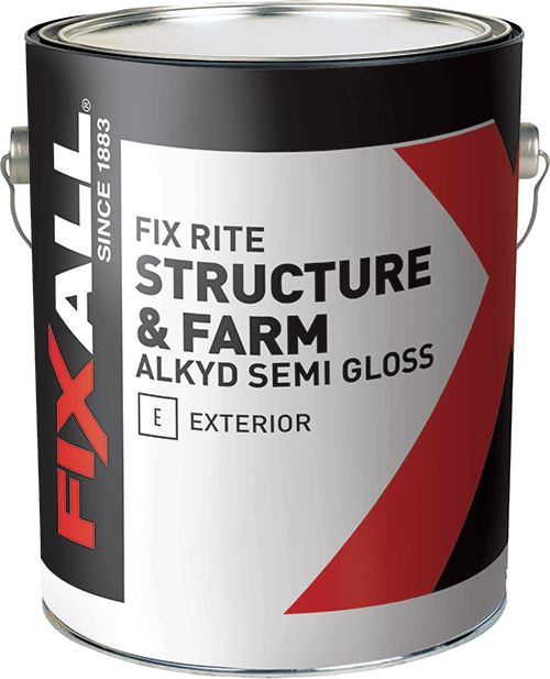 Fix rite structure farm exterior alkyd paint fixall paint for What are alkyd paints