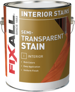 Find a product fixall paint Best exterior semi transparent stain