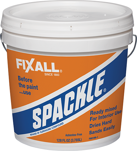 spackle fixall paint
