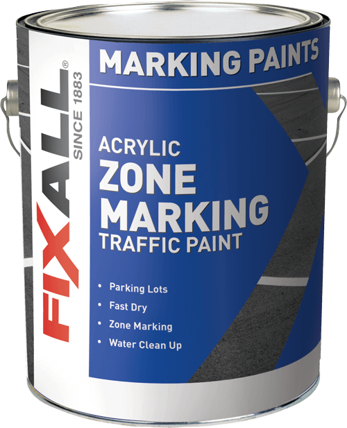 Zone Marking Traffic Paint Latex Fixall Paint