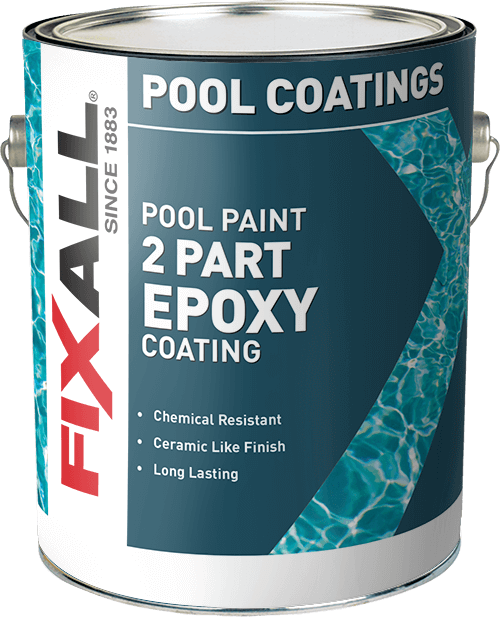Epoxy Pool Paint Fixall Paint