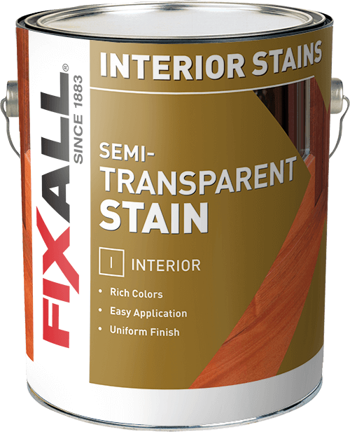 Semi Transparent Interior Stain Fixall Paint
