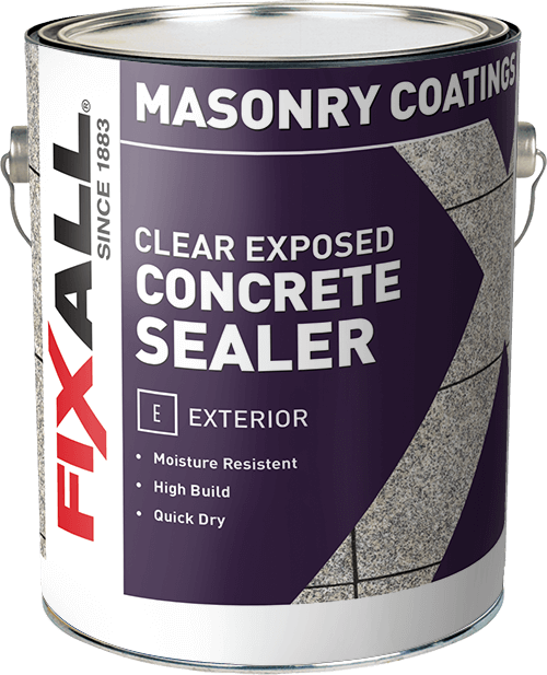 Exposed Concrete Sealer (Clear) - FixALL Paint